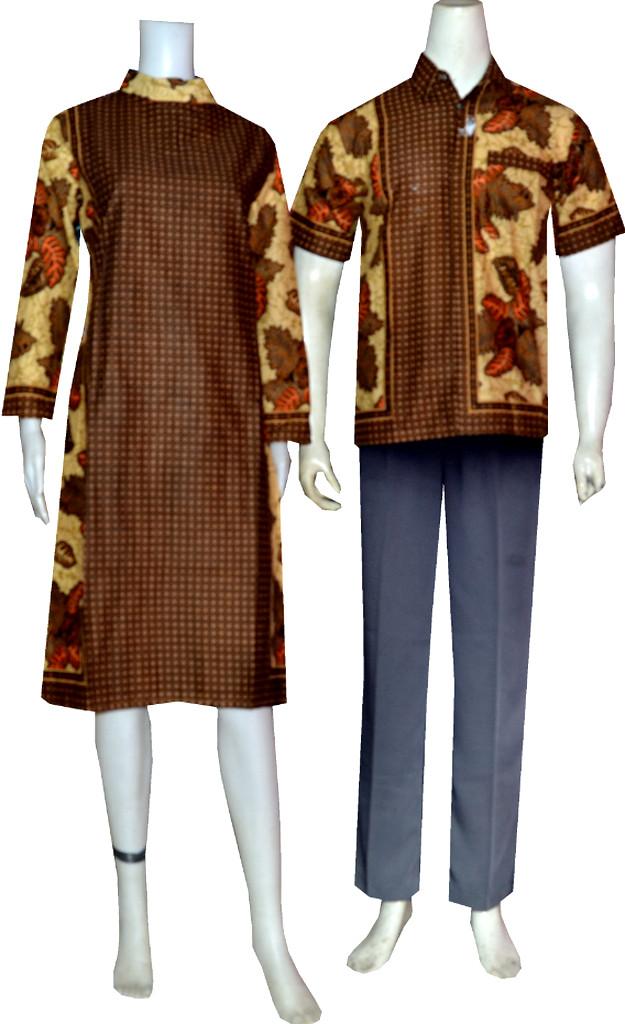 Model Tunik Batik Couple Code Srt 01 Koleksi Batik Modern